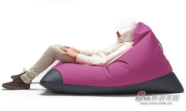 依诺维绅创意地板沙发椅 特大豆袋 -2
