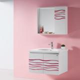 丝彩系列 实木浴室柜(3D奈丽)
