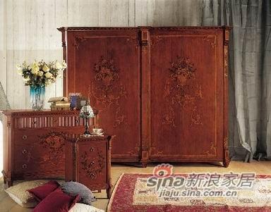 超舒适卧室系列暗香浮动抽屉柜