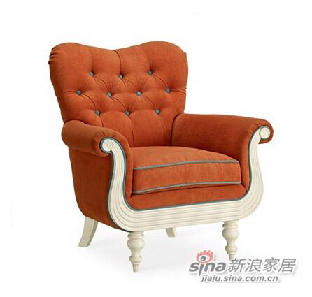 美克美家查尔丝汀沙发椅-1