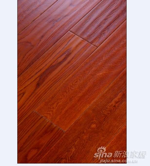 上臣栎木11-F-1实木地板-0