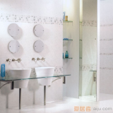 陶一郎-韩式墙纸系列-亚光砖TW45112(300*450mm)