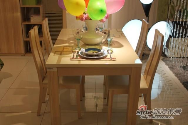 澳玛 KFN302A+B大理石餐桌-2