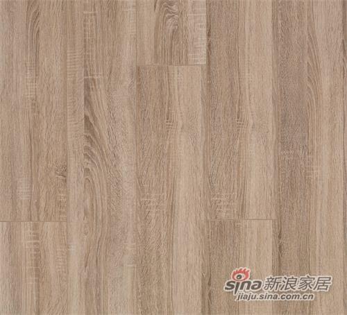 德尔无醛芯强化木地板 率性橡木 -1