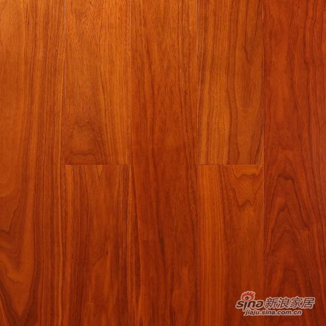 瑞澄地板--实木复合地板--黑 核 桃RCD�C313-0