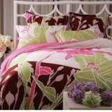 紫罗兰家纺床上用品全棉活性印花四件套叶露花啼VHL0319-4