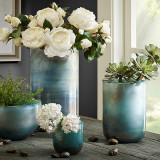圆柱形玻璃花瓶