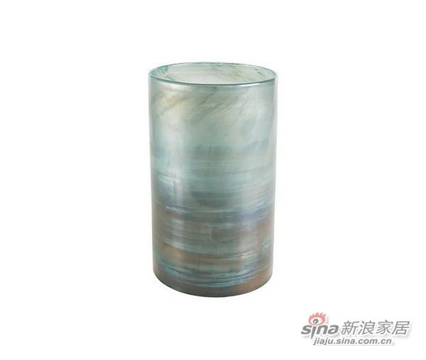 圆柱形玻璃花瓶-2
