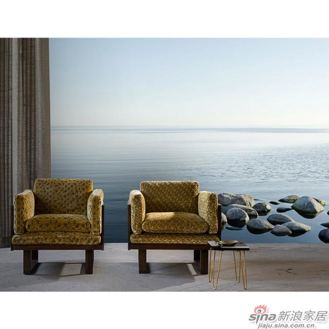 湖湾冥想_碧湖风吹涟漪瞭望无际碧画现代轻奢风格背景墙_JCC天洋墙布