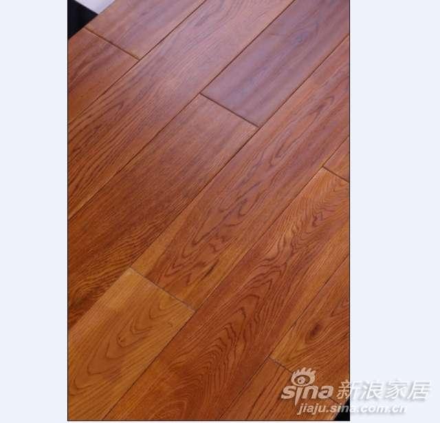 上臣栎木11-F-4实木地板-0