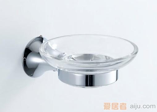 雅鼎-冰清玉洁系列-玻璃皂碟70270031