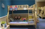 ABC实木儿童家具BO12C双层床