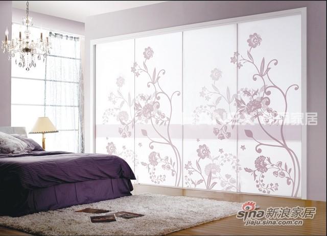 韩丽衣柜工艺玻璃系列-倾慕-0
