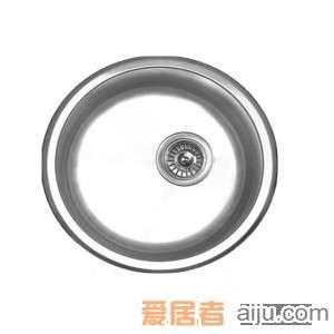 GORLDE优质不锈钢水槽/洗菜池 莱茵系列1011D-1(单圆盆)2