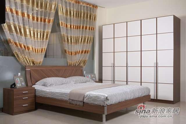 东方百盛-B581双人床-0