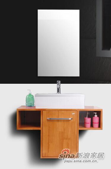 九牧高档落地式浴室柜