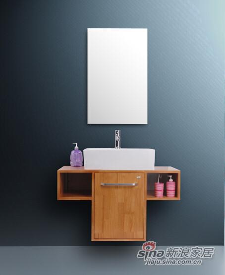 九牧高档落地式浴室柜-1