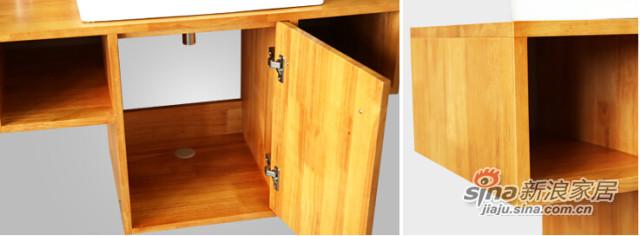 九牧高档落地式浴室柜-2