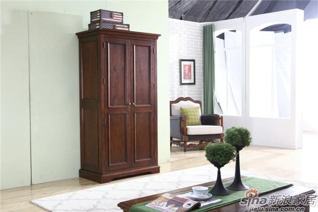 布鲁克系列-ML68002两门衣柜