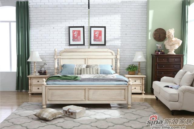 布鲁克系列-ML68005-2床+ML6803-2床头柜