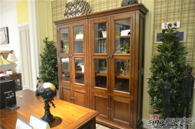 布鲁克系列-ML68281两门书柜