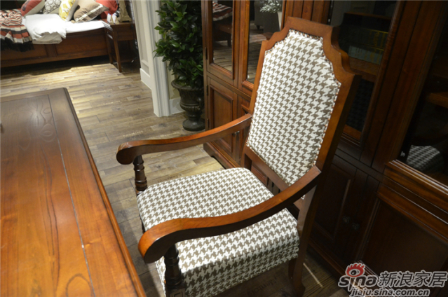 布鲁克系列-ML68281书椅