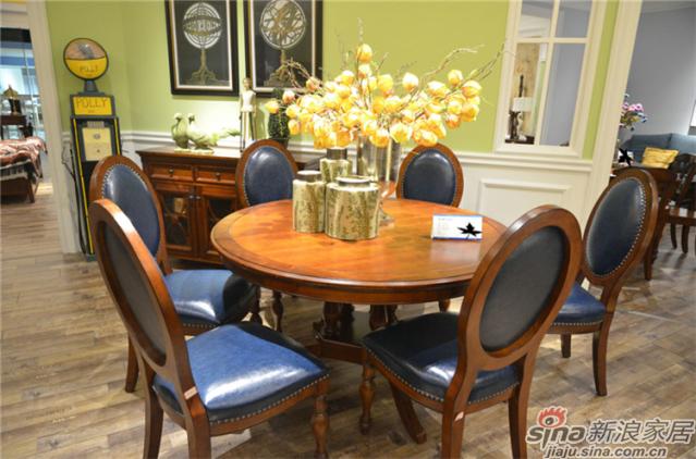 布鲁克系列-ML68508餐桌椅