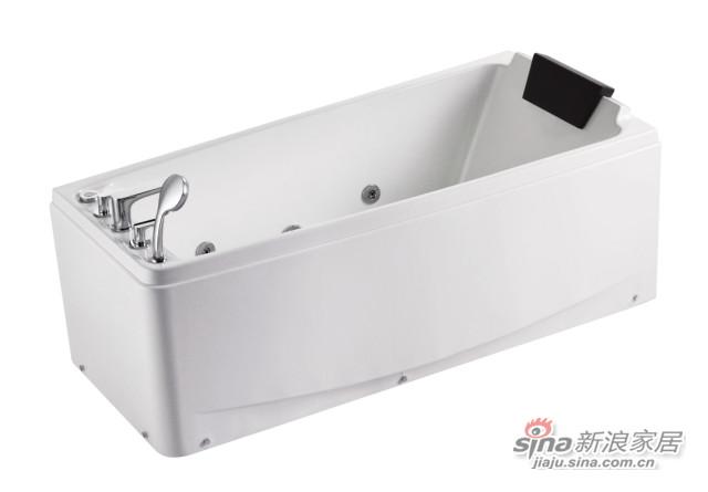 窄缸壁浴缸-0