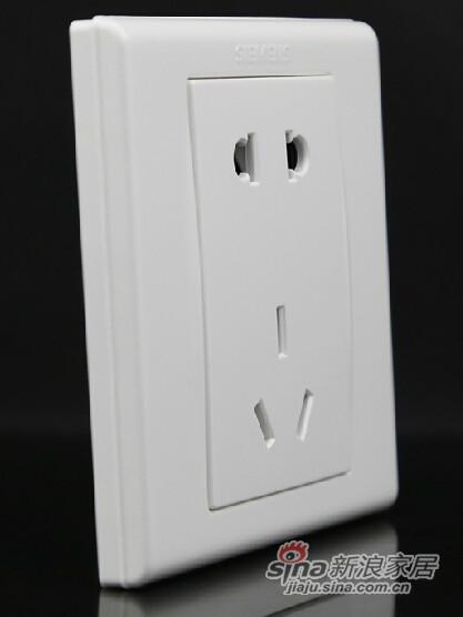 西门子二三孔电源插座-0