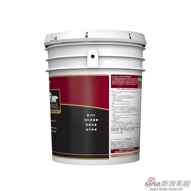 百色熊超级室外哑光涂料 5加仑-3