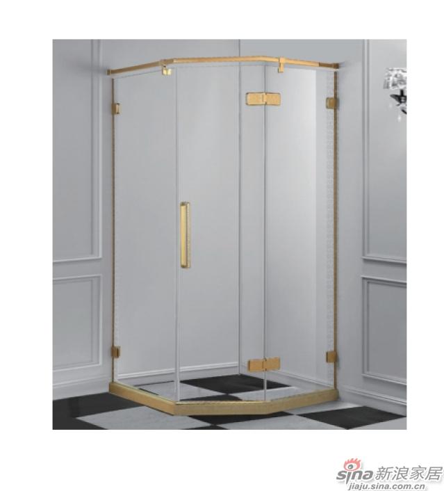 SH2-3031Z钻石型二固一开沐浴房