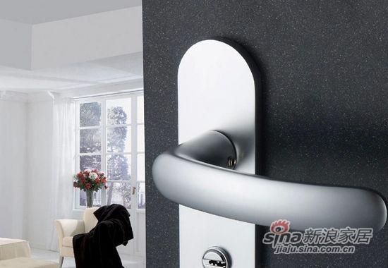 铝合金太空铝室内门锁 -0