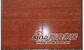 四合地板三层实木复合地板地热地板非洲缅茄自然色