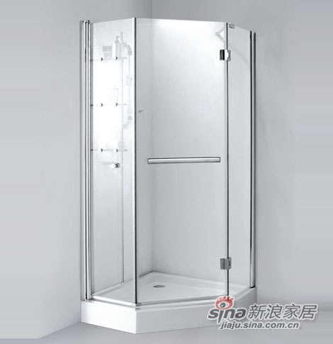 泰陶淋浴房TZ-130(钻石型)-0