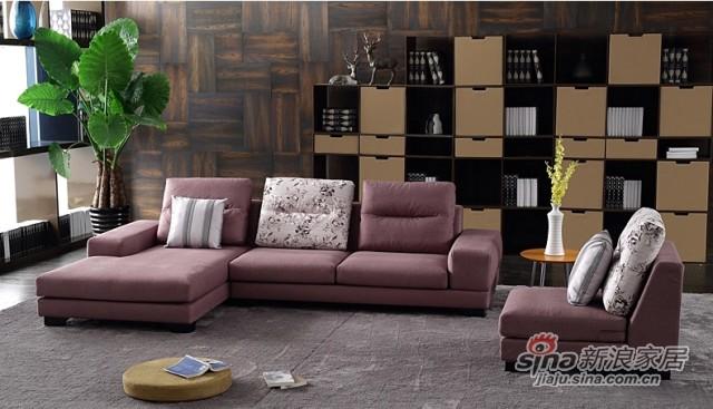 斯可馨 布艺沙发 简约 现代复合面料可拆洗组合 客厅沙发 TMI002-4