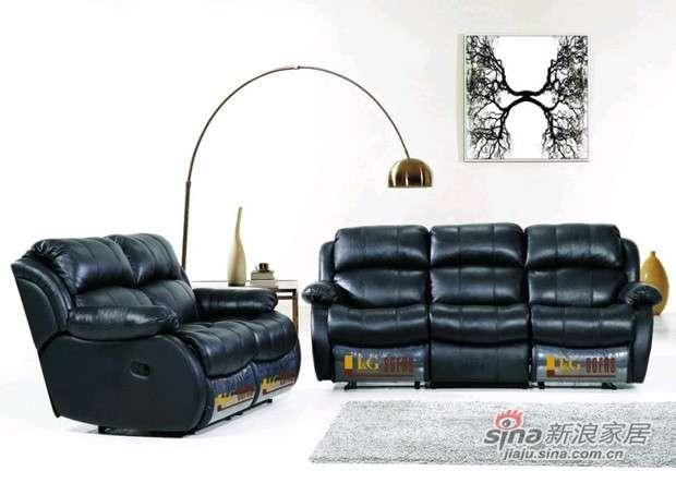 华伦蒂诗多功能沙发真皮沙发K809 -0