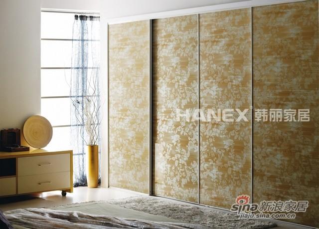 韩丽衣柜工艺玻璃系列-梦溪花影-0