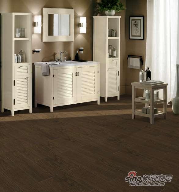 欧典地板地热系列白栎棕咖啡-0