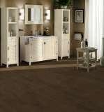 欧典地板地热系列白栎棕咖啡