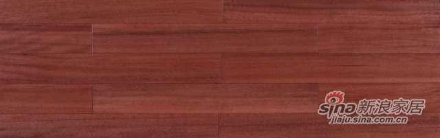 大卫地板经典实木-东南亚悠然系列S28L01榄仁木(黄色锁扣)-0