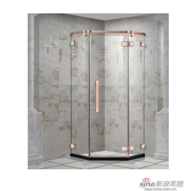SH2-3311Z钻石型两固一开平沐浴房