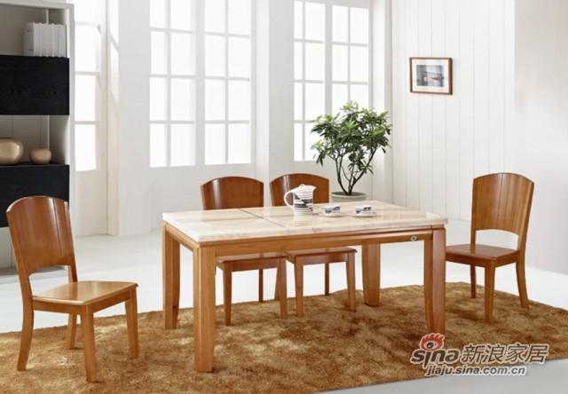瑞森大理石系列D628#餐桌椅-0
