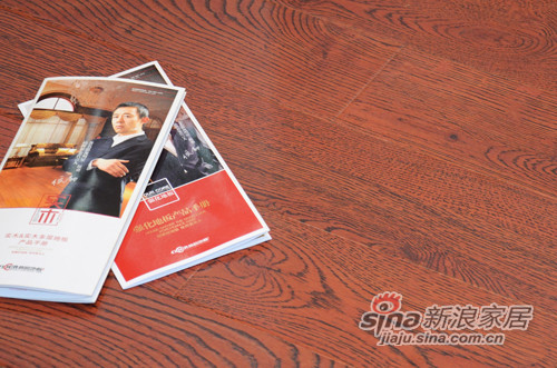 林昌地板--12系列仿古拉丝--财源滚滚EOL1205-0