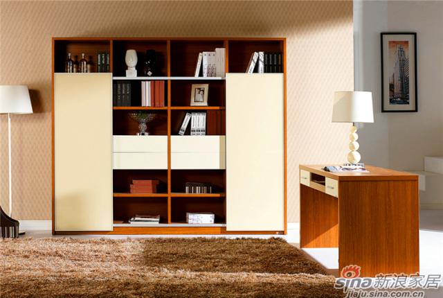 卡洛系列-S32281书柜+书桌
