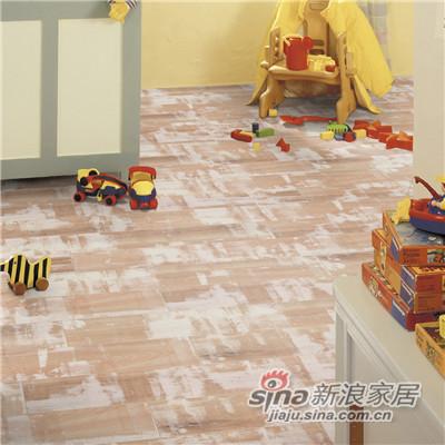 德合家ROOMS 强化地板R1008浅色松木