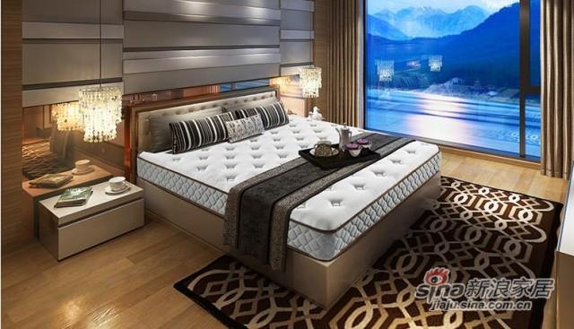 雅兰静音舒睡弹簧床垫