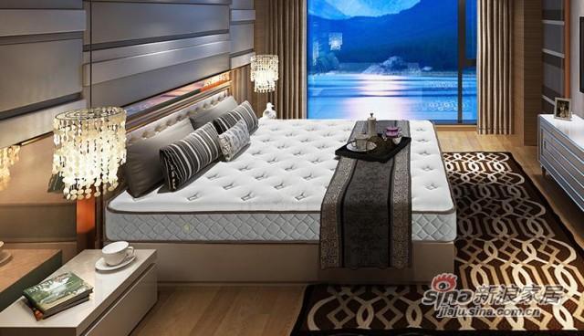 雅兰静音舒睡弹簧床垫-1