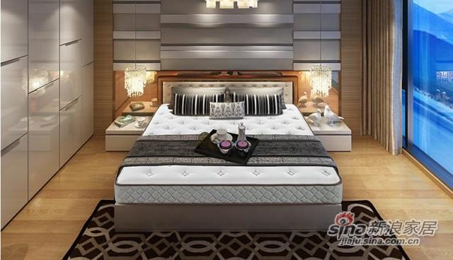 雅兰静音舒睡弹簧床垫-2