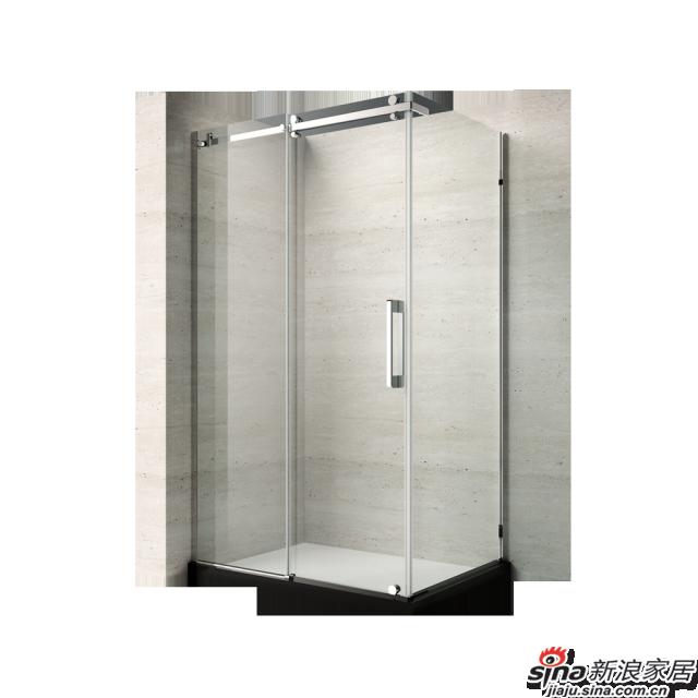 恒洁卫浴淋浴房HLG06F31