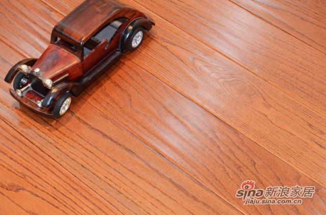 林昌地板--实木地板--美国红橡-深F9312
